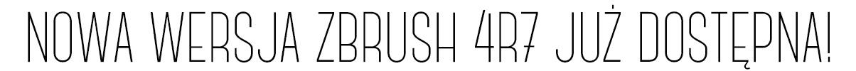 Najnowsza wersja programu Zbrush