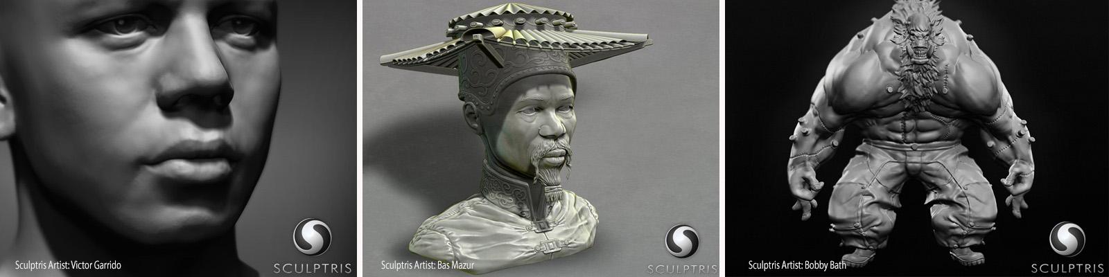Sculptris - program Zbrush