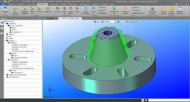 ZW3D – Zintegrowany System CAD/CAM