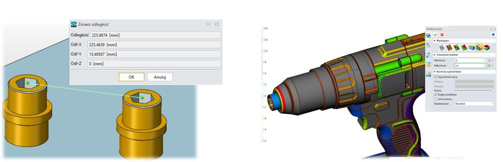 Wykonywanie zaawansowanej analizy w programie CADbro
