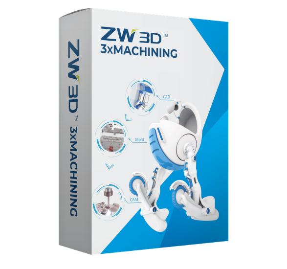 Pudełko ZW3D 3xMachining