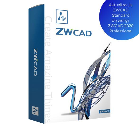 Aktualizacja ZWCAD Standard do wersji ZWCAD Professional