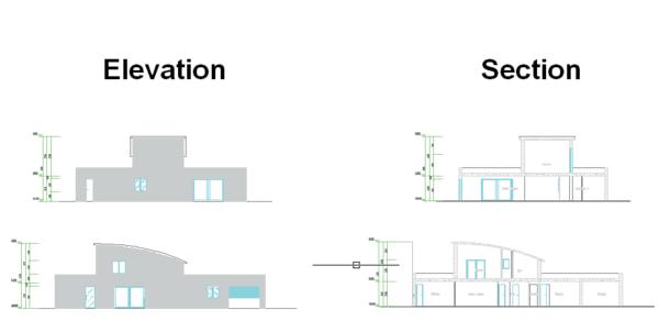 ZWCAD Architecture - Szkic