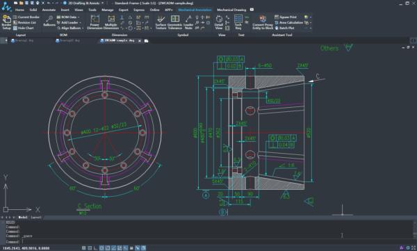 ZWCAD Mechanical kompatybilność