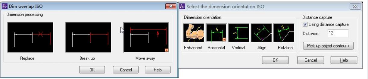 Inteligentne nakładanie sie wymiarów w programie ZWCAD Mechanical