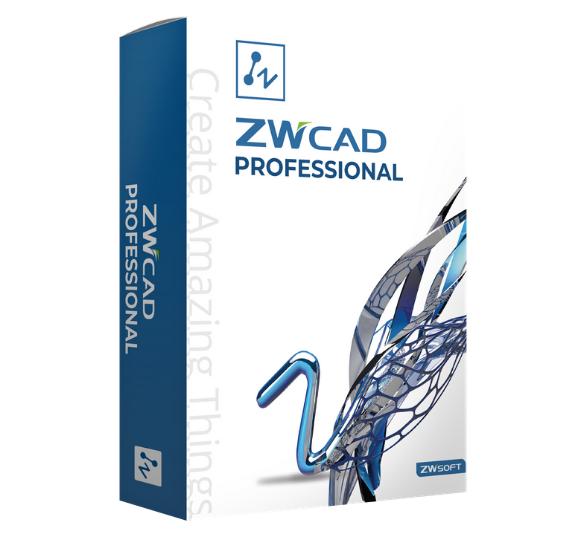 Pudełko programu ZWCAD Professional