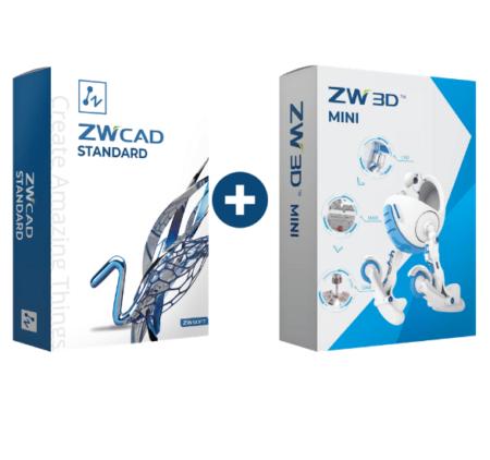 Pakiet programów ZWCAD + ZW3D Mini