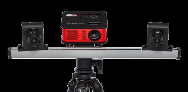 Spectrum - skaner 3D RangeVision z przodu