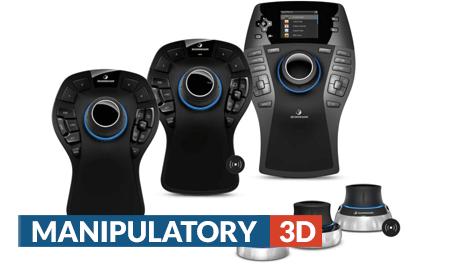 Manipulatory 3D