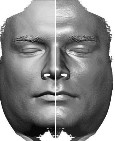 Skan twarzy 3D w programie Zbrush