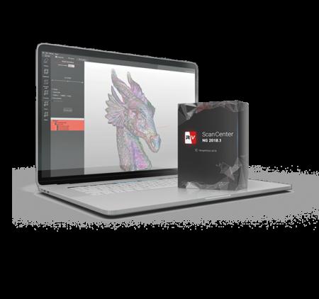 Rangevision Scancenter - oprogramowanie do skanerów 3D