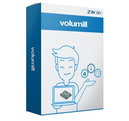 Volumill 3x oprogramowanie do zw3d
