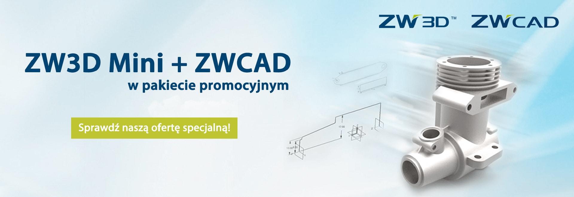 ZW3DMini i ZWCAD w pakiecie