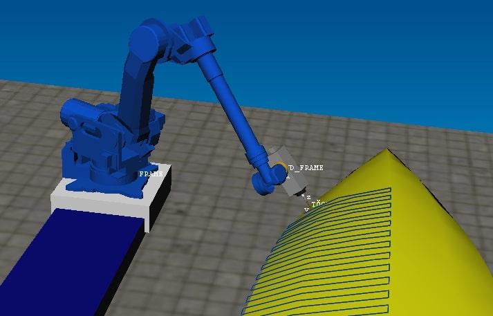 9 frezowanie robotem MOTOMAN