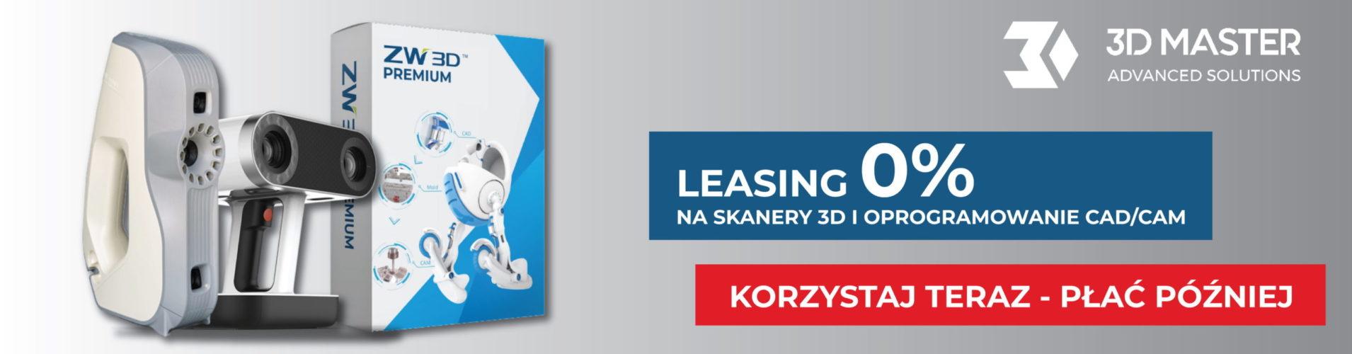 Leasing na skanery 3D