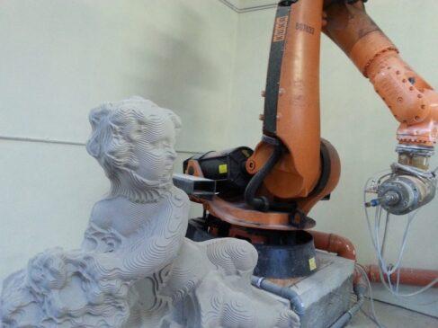 frezowanie robotem cnc