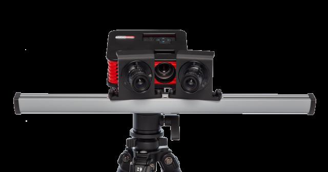 Skaner 3D RangeVision - zbliżenie