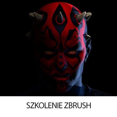 Szkolenie projektowania 3D w Zbrush Warszawa